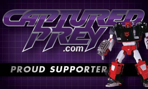 Visit Captured Prey for all of your transforming robot needs!